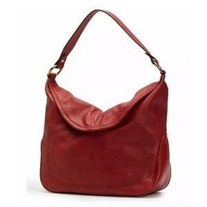 FRYE | Campus Rivet Leather Hobo Bag